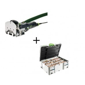 Pack fraiseuse Domino Festool DF 500 Q-Set + Systainer Domino
